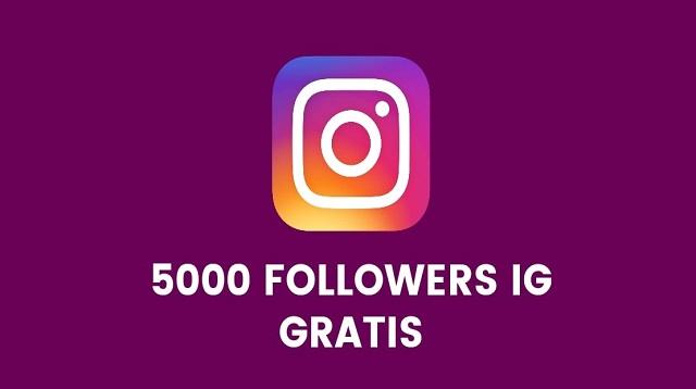 5000 Followers Gratis