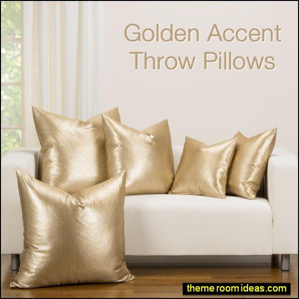throw pillows Golden Accent Throw-Pillow cushions pillows decorative