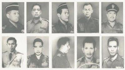 Daftar Nama Pahlawan Revolusi Indonesia