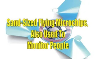Sand-Sized Flying Microchips, Also Used To Monitor People