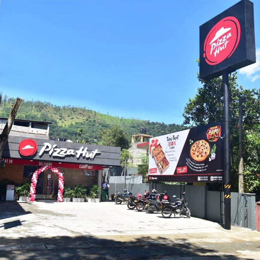 Newly opened Pizza Hut Badulla
