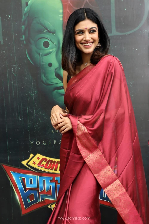 Contractor Nesamani Movie Pooja Stills