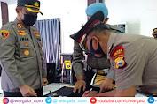 Kapolres Pimpin Upacara Pengangkatan Jabatan Kasiwas Polres Sinjai