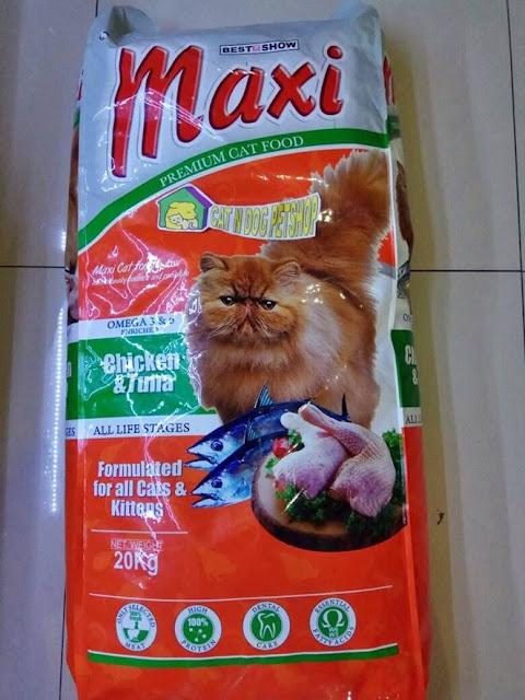 Review Makanan Kucing Maxi