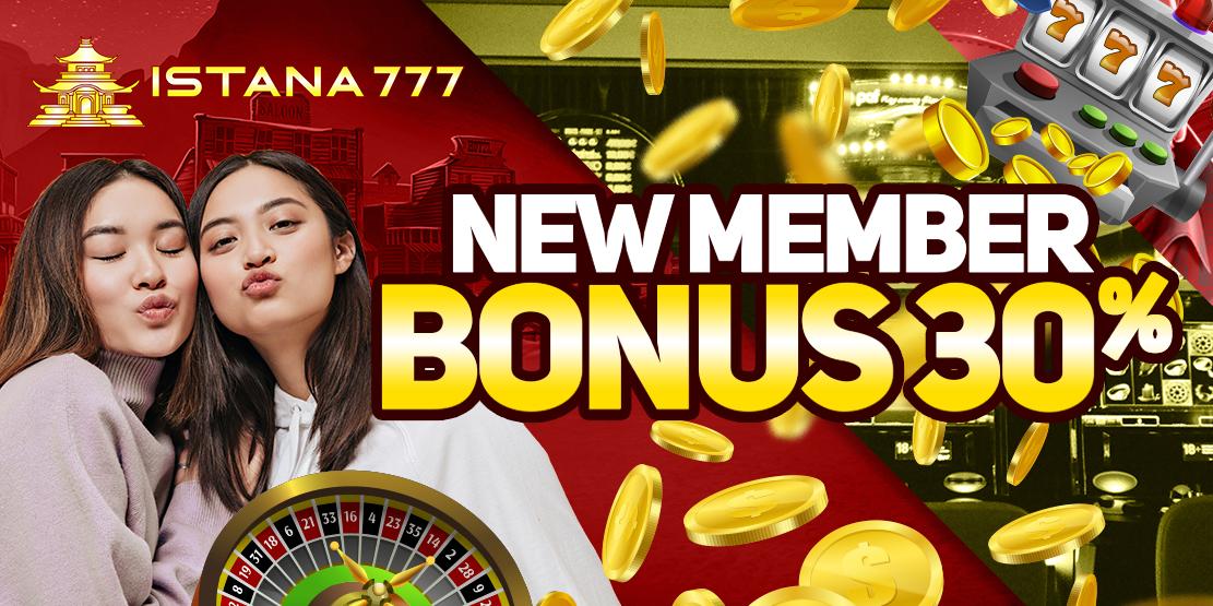 Bonus New Member 30%
