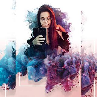 Aesthetic Background Purple