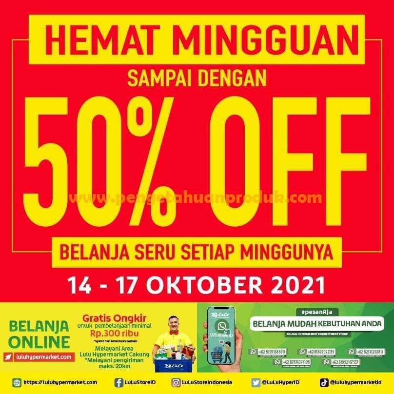 Promo Lulu Hemat Mingguan JSM Periode 14 - 17 Oktober 2021