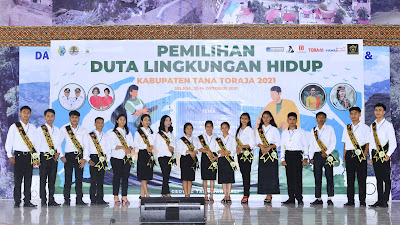 Grand Final Pemilihan Duta Lingkungan Toraja 2021 Digelar Sore Nanti