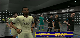 Download eFootball PES 2022 PPSSPP New Transfer And Team Promotion Best Camera PS4 & Peter Drury Commentary