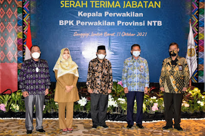 Wagub NTB, Pembangunan NTB Juga Kontribusi Besar BPK