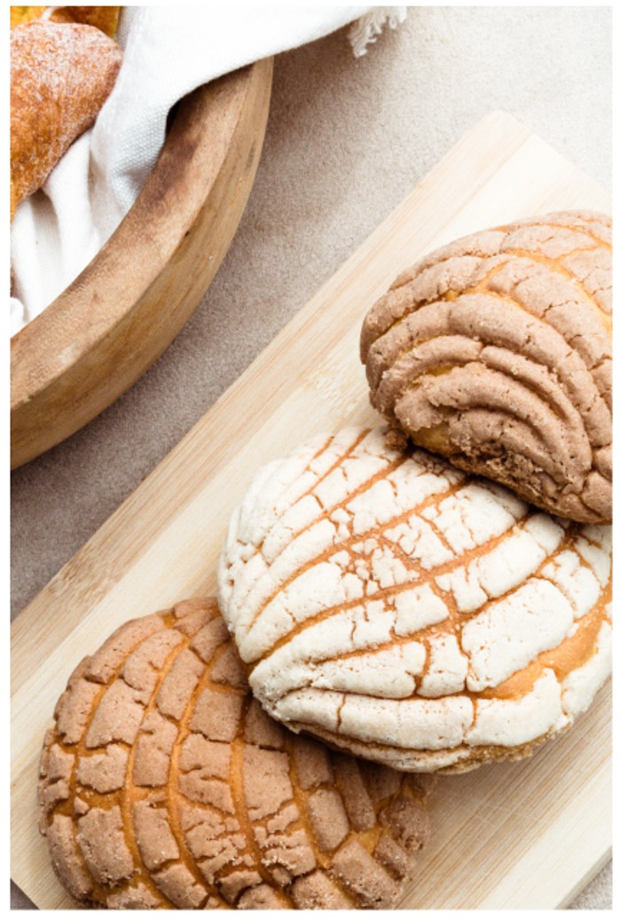 Mexican Conchas-Pan Dulce