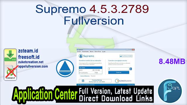 Supremo 4.5.3.2789 Fullversion