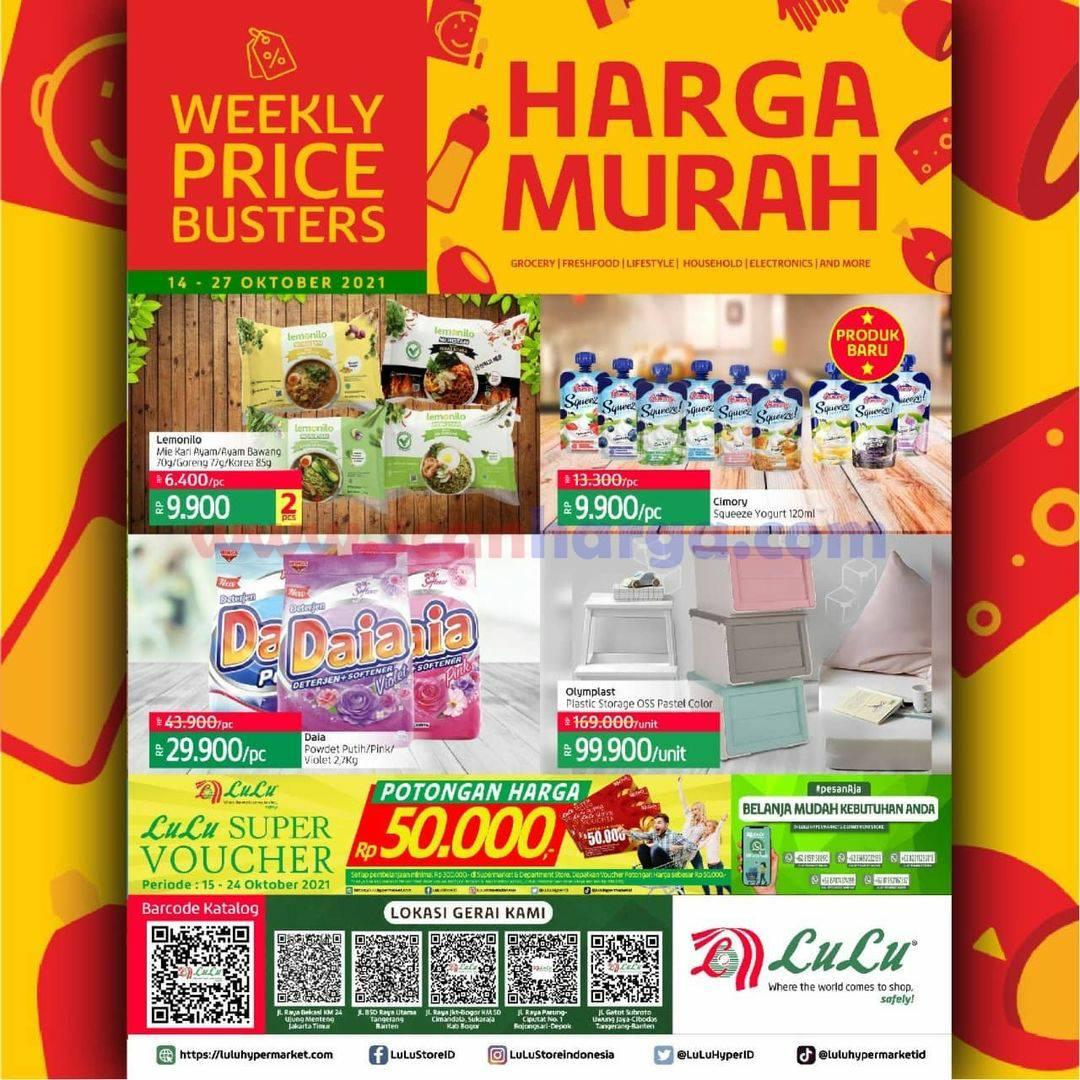 Katalog Promo LULU Supermarket 14 - 27 Oktober 2021