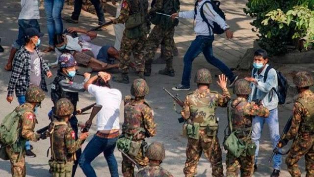 Junta Myanmar Tangkap Lagi 2 Jurnalis, Total Sudah 98 Wartawan