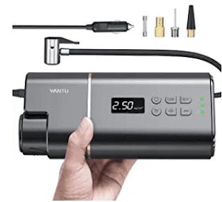 $23.39 YANTU Portable Air Compressor Tire Inflator