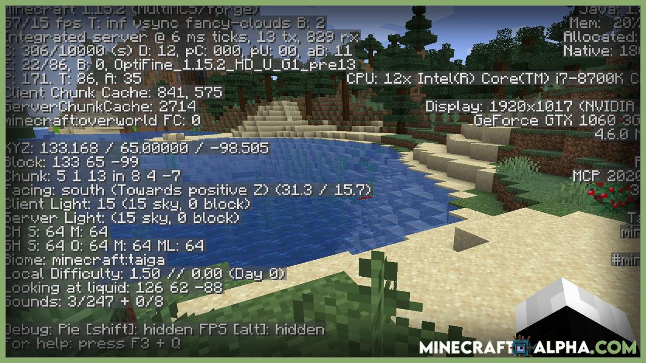 Minecraft OptiForge Mod 1.17.1