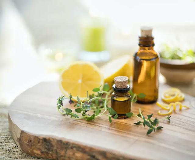 The essential oil of lemon