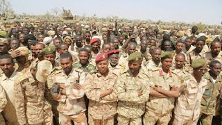 إرسال تعزيزات عسكرية للجيش السوداني في منطقة الفشقة الحدودية مع أثيوبيا