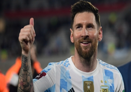 Barcelona Legend Messi thriving in Argentina team: Scaloni