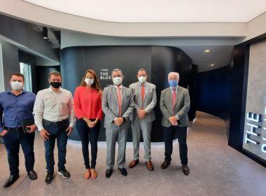 Em Dubai, governador Rui Costa conhece soluções para cidades inteligentes