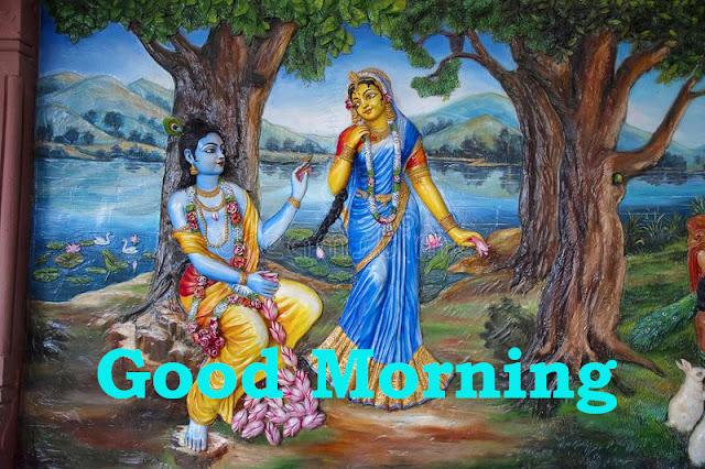 Radhe Krishna Good Morning