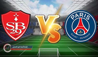 نتيجة و اهداف مباراة باريس سان جيرمان و ستاد بريست بث مباشر اليوم 20-08-2021 في الدورى الفرنسي وملخص المباراة