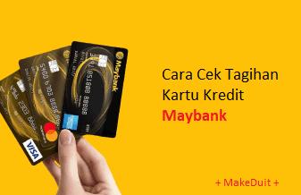 Cara Cek Tagihan Kartu Kredit Maybank Lewat SMS