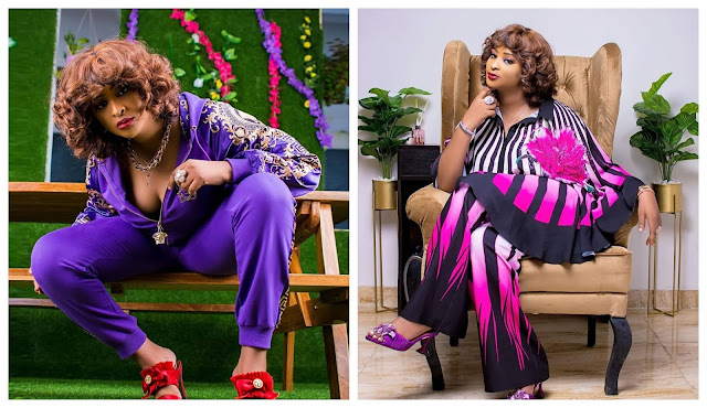 Na we dey feed men- Actress Etinosa slams those who accused her of sleeping with men for money