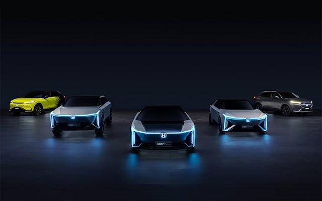 Honda presenta 5 coches eléctricos para estrenar su nueva submarca e:N