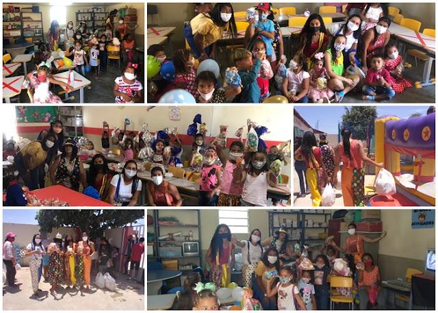 Dando continuidade a semana de criação, Ação Social de Buíque  promove festa no Povoado Tanque