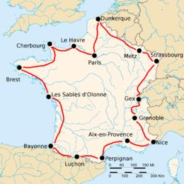 tour de france cyclisme 1920