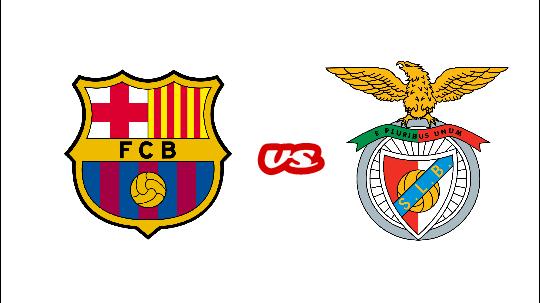 مشاهدة مباراة برشلونة و بنفيكا اليوم ضمن ثاني جولات دوري الأبطال