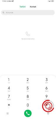 Silakan kalian buka Telepon