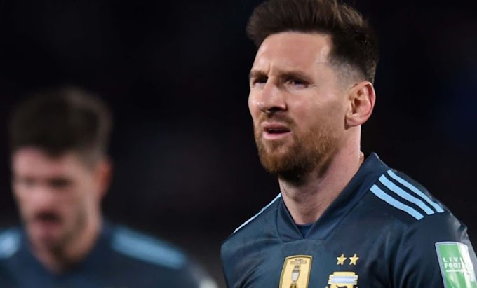 Angry Lionel Messi Blasts Referee After Argentina's Match Against Peru (See What He Said)