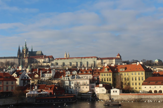Prague Castle seen from Charles Bridge
