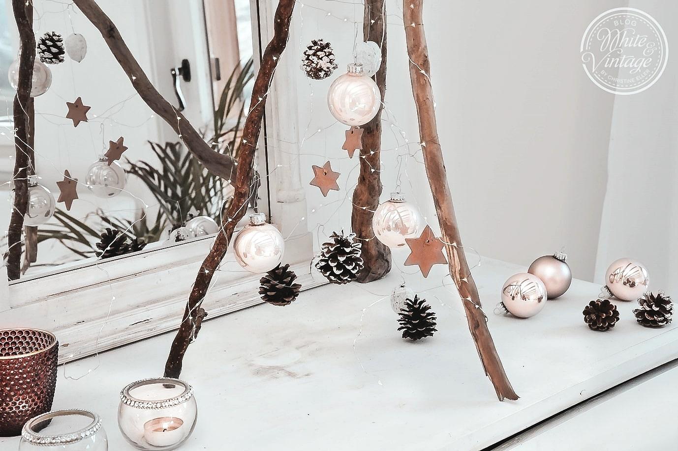 skandinavischer Weihnachtsbaum aus Holz bauen