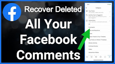How to See Deleted Comments on Facebook - Recover Deleted Comments On Facebook