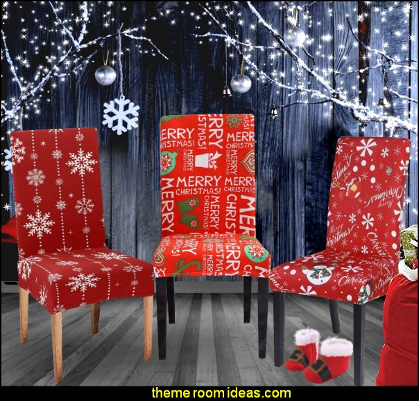 Slipcovers Christmas Decoration Chair Protector Slipcovers Chair Cover