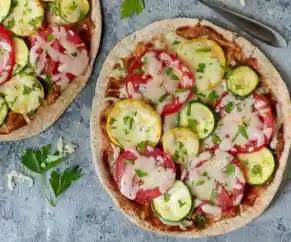 طريقة عمل,وصفة,بيتزا بيتا,Pita Pizza,Pita Pizza recipe,