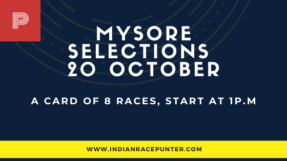 Mysore Race Selections 20 October