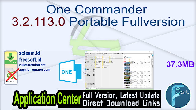 One Commander 3.2.113.0 Portable Fullversion