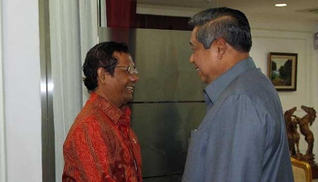 Ada Rahasia di Balik Mahfud Selalu Manis ke SBY, Kepengen Maju 2024?