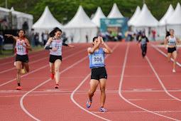 Atlet Sumsel, Sri Mayasari Pecakan Rekor Nasional di Nomor Lari 400 Meter Putri PON XX
