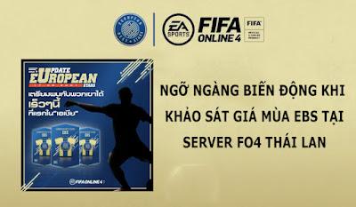 FIFA ONLINE 4   Ngỡ ngàng biến động khi khảo sát giá mùa EBS tại sever fo4 Thái Lan - BeeTechz
