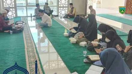 Kafilah Kota Padang Panjang sedang melakukan latihan yang intens