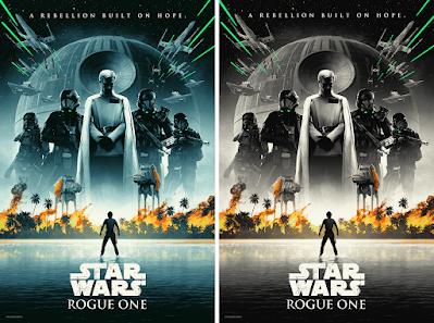 "New York Comic Con 2021 Exclusive Star Wars: Rogue One ""Verge of Greatness"" Screen Print by Matt Ferguson x Bottleneck Gallery"