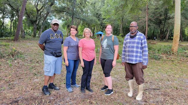 Willie Cooper, Sr. Lisa Lewis, Kim Jenkins, Angie Clark and Thomas Jackson