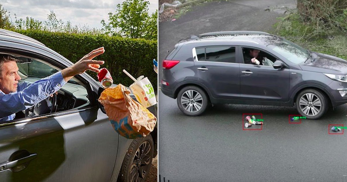 Hidden Cameras To Catch Drivers Throwing Rubbish Will Be Placed In Essex, England