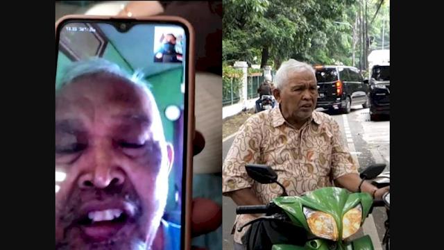 Pengakuan Kakek Penjual Buku Keliling yang Dimarahi Baim Wong: Saya Bukan Pengemis