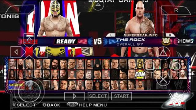شخصيات لعبة WWE 2K